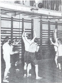 history basketball peach wire hoop baskets were naismith backboards basket spectators balcony hung rims eng file